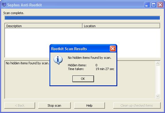 Sophos Anti-Rootkit