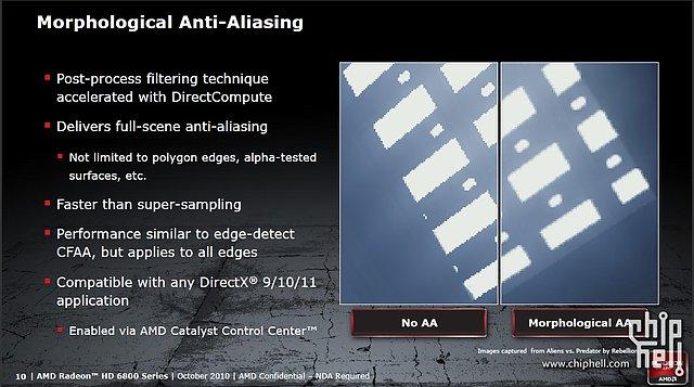 AMD Radeon HD 6800: Morphological Anti-Aliasing