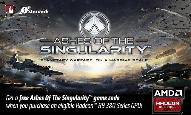 """AMD """"Ashes of the Singularity"""" Spielebundle"""