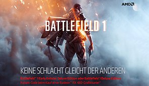"AMD Battlefield 1 ""Deluxe Edition"" Promoaktion"