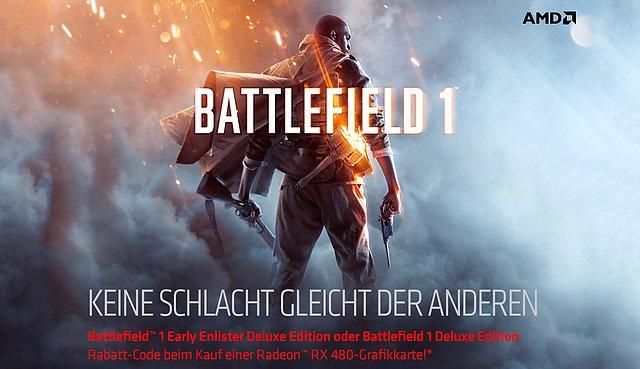 """AMD Battlefield 1 """"Deluxe Edition"""" Promoaktion"""