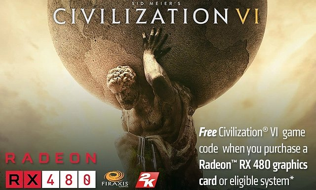 "AMD ""Civilization VI"" Spielebundle"