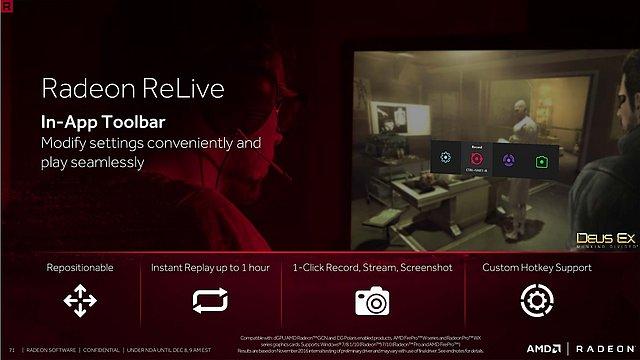 """AMD """"Crimson ReLive Edition"""" Präsentation (Slide 71)"""