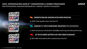 AMD FAD '15 – Introducing AMD 6th Generation A-Series Processor