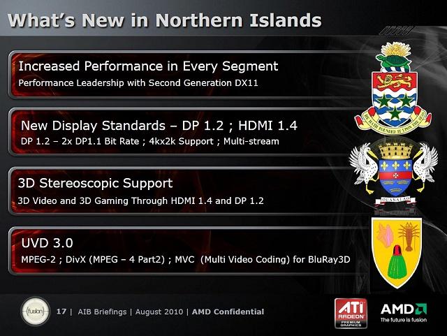 AMDs Präsentation zur Northern-Islands-Generation, Teil 4