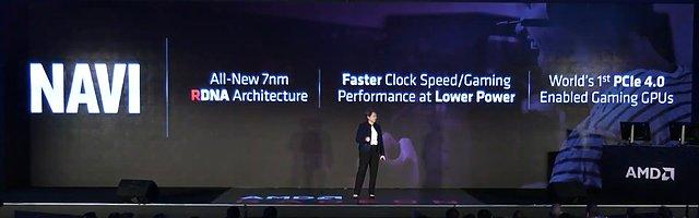 AMD Navi-Vorstellung auf der Computex 2019 (Bild 1)