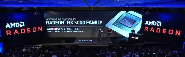 AMD Navi-Vorstellung auf der Computex 2019 (Bild 3)