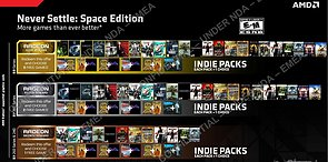 "AMD ""Never Settle: Space Edition"" Spielebundle"