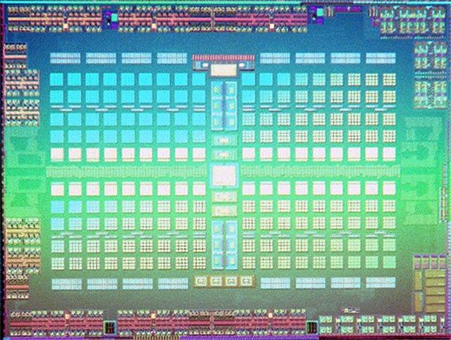 AMD Polaris 10 Dieshot (echt)