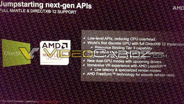 AMD Radeon R9 390X & DirectX 12