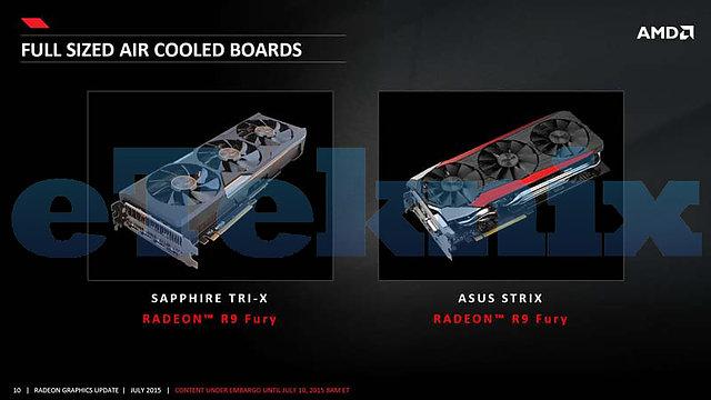 AMD Radeon R9 Fury Herstellerkarten