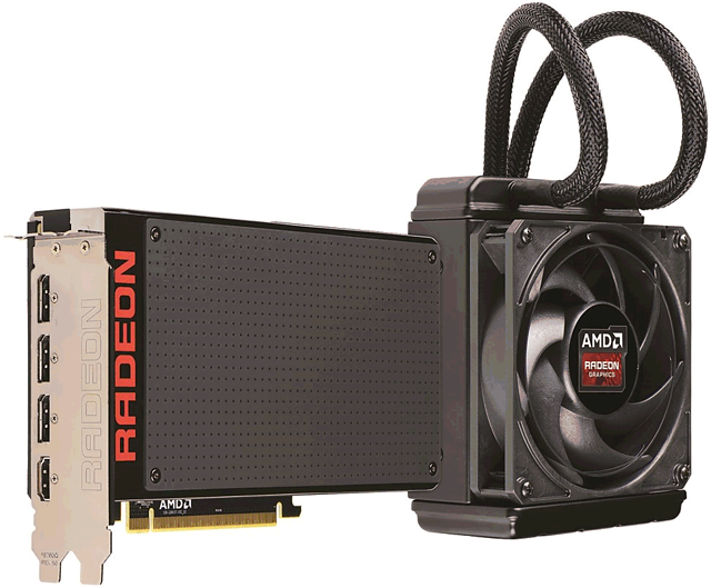 AMD Radeon R9 Fury X (Referenzdesign)