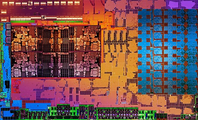 "AMD ""Raven Ridge"" Die"