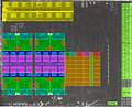 """AMD """"Renoir"""" Die-Shot mit markierten Einheiten"""