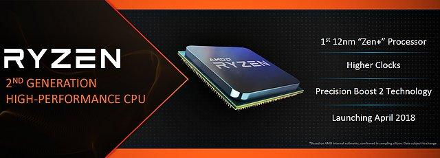 AMD Ryzen 2 Ankündigung
