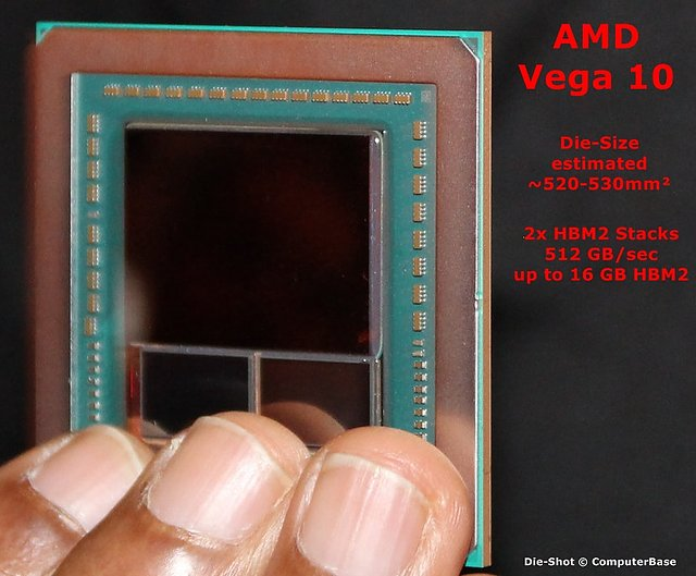 AMD Vega 10 Die-Shot
