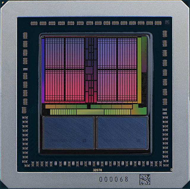 AMD Vega 10 Package & Die-Map