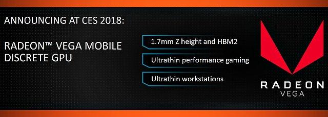 "AMD ""Vega Mobile"" Ankündigung"