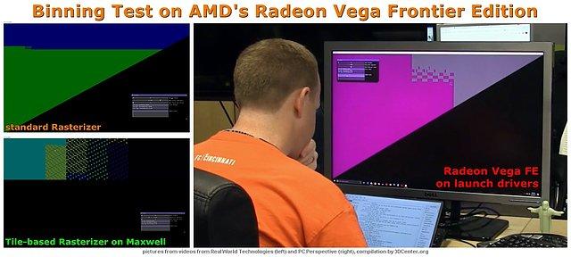 Binning-Test auf AMDs Radeon Vega Frontier Edition