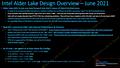 """Intel """"Alder Lake"""" Leak von MLID vom Juni 2021, Teil 1"""