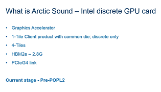 "Intel ""Arctic Sound"" Spezifikationen - Teil 2"