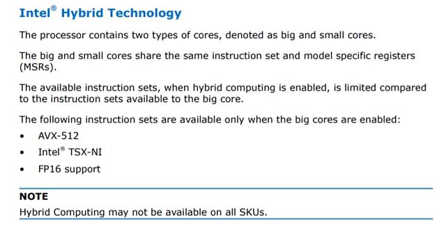 "Intel ""Hybrid Technology"""