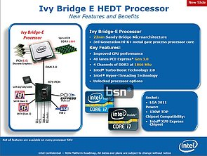Intel Ivy Bridge E Features