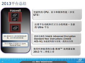 Intel-Roadmap zu Haswell (Slide 18)