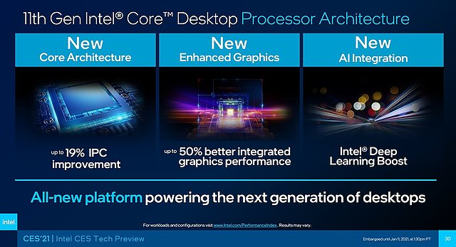 Intel Rocket Lake Preview