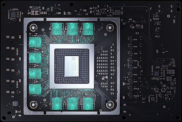 Microsoft Xbox Series X Board