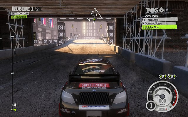 HD Graphics 3000 @ Colin McRae: DiRT 2