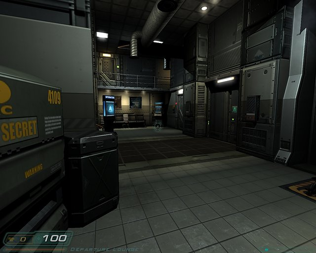 Doom 3 - nVidia GeForce 8400 GS