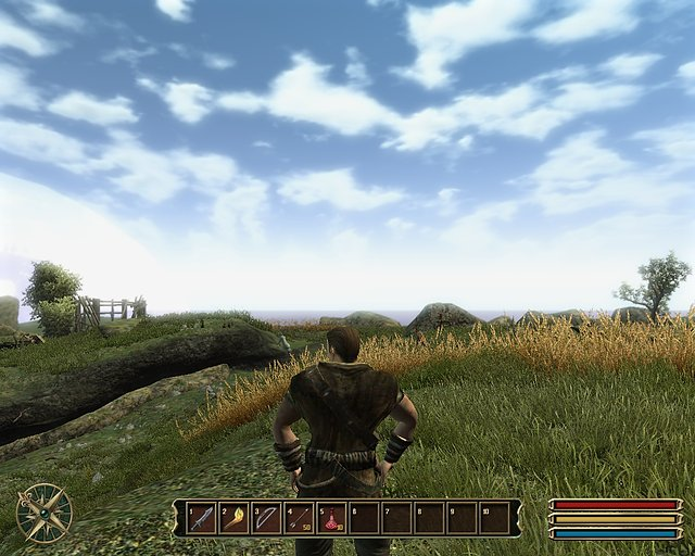 Gothic 3 - nVidia GeForce 8400 GS