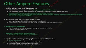 nVidia Ampere Features (by MLID)