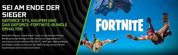 "nVidia ""Fortnite"" Itembundle"