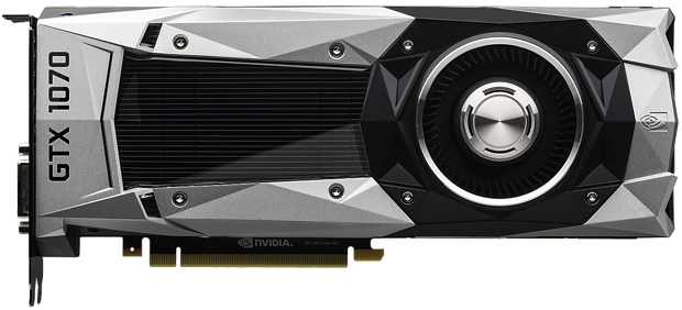 nVidia GeForce GTX 1070 Referenzdesign