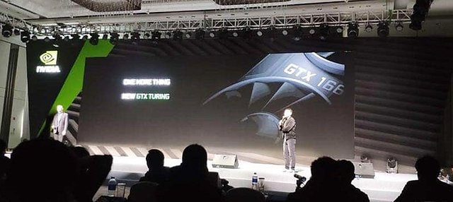 nVidia GeForce GTX 1660 Präsentation