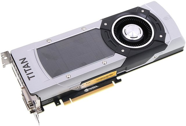 nVidia GeForce GTX Titan Black (Referenzdesign)