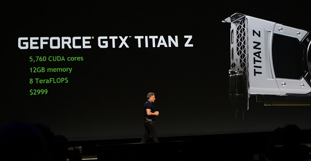 nVidia GeForce GTX Titan Z Präsentation