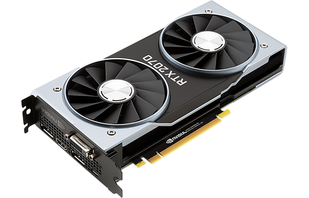 "nVidia GeForce RTX 2070 ""Founders Edition"""