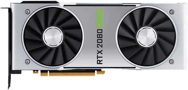 "nVidia GeForce RTX 2080 Super ""Founders Edition"""