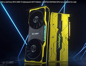 "nVidia GeForce RTX 2080 Ti ""Cyberpunk 2077 Edition"""