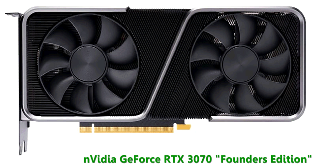 "nVidia GeForce RTX 3070 ""Founders Edition"""