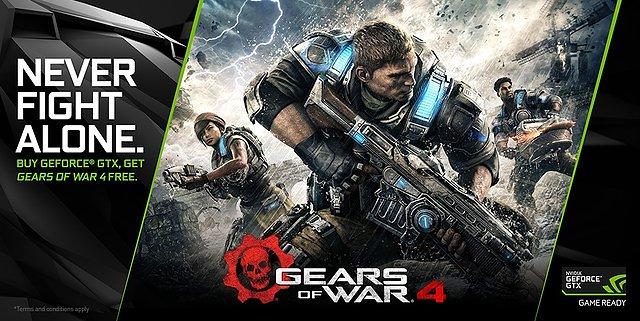"nVidia ""Gears of War 4"" Spielebundle"