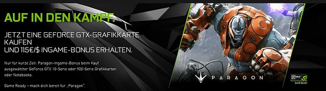 "nVidia ""Paragon Game Ready Pack"""