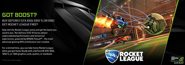 "nVidia ""Rocket League"" Spielebundle"