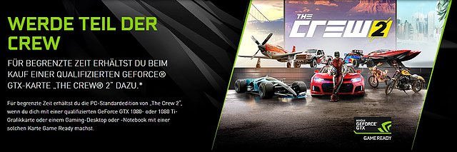 "nVidia ""The Crew 2"" Spielebundle"