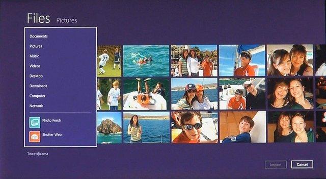 Windows 8 Oberfläche, Bild 8
