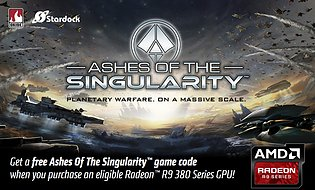 "AMD ""Ashes of the Singularity"" Spielebundle"