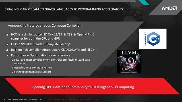"AMD ""Boltzmann Initiative"" - Slide 6"